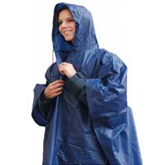 Shower Proof Poncho with Hood