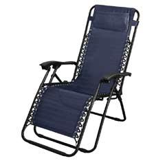 Brundles Navy Recliner Chair