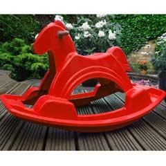 Rondeau Leisure Horse Rocker Red