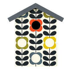 Orla Kiely Flower Stem Bird House