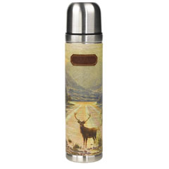 Ted Baker Men's Stag Flask 500ml