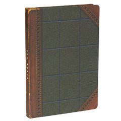 Ted Baker Men's A5 Tweed Notebook