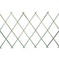 Botanico Expanding FSC Wood Trellis - Green 180 x 30cm
