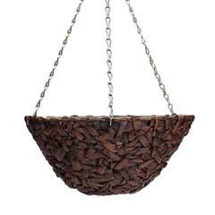Botanico Hyacinth Hanging Basket 14in