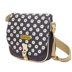 Brakeburn Polka Flower Saddle Bag