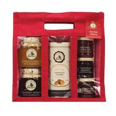 Mrs Bridges Christmas Selection in Large Jute Bag