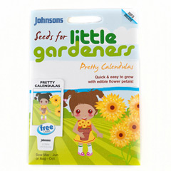 Johnsons Little Gardeners Flowers - Pretty Calendulas