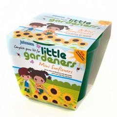 Johnsons Little Gardeners Complete Grow Kits - Mini Sunflowers