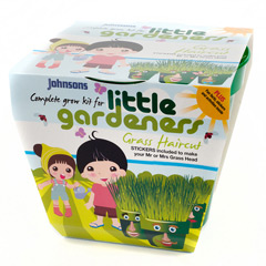 Johnsons Little Gardeners Complete Grow Kits - Grass Haircut