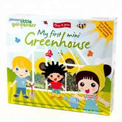 Johnsons Little Gardeners My First Mini Greenhouse