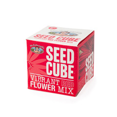 Mr Fothergills Seed Cube - Vibrant Reds Mix