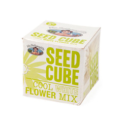 Mr Fothergills Seed Cube - Cool Whites Mix