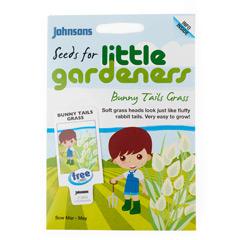 Johnsons Little Gardeners Flowers - Bunny Tails Grass