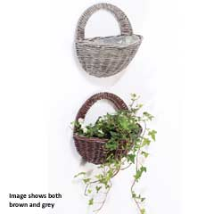 Triflora Woven Wall Hanger Basket