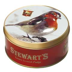 Stewarts Luxury Fudge 125g - Robin Redbreast