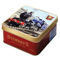 Stewarts Luxury Fudge 190g - King Edward II Steam Train