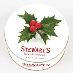 Stewarts Luxury Fudge 125g - Holly