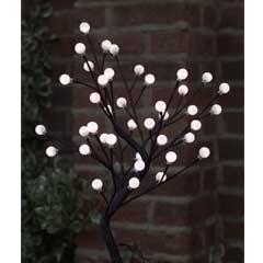 Cotton Ball Tree - 40 White LED