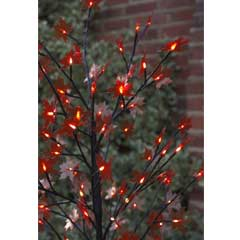 Red Acer Tree - 60 LED