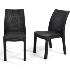 Keter Toscana Stacking Chair - Set of 2