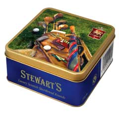 Stewarts Luxury Antique Edition Shortbread 125g - Golf Bag
