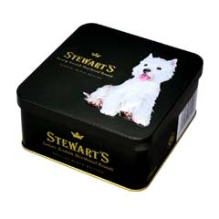 Stewarts Luxury Black Edition Shortbread 125g - Westie