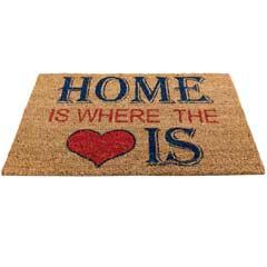 Gardman Home is Where The Heart Is Door Mat