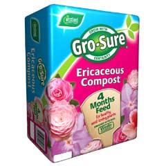 Westland Gro-Sure Ericaceous Compost 10 Litres