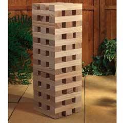 Garden Games - Giant Tower Wooden Blocks Garden Game