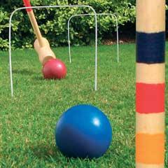 Garden Games - Wooden Garden Croquet Set