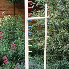 Garden Games - Wooden Limbo Garden Game