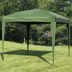 Pop Up Gazebo 3m x 3m - Green