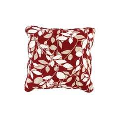 Glendale Scatter Cushion Piped - Marbella Leaf Design