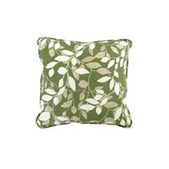 Glendale Scatter Cushion Piped - Cotswold Leaf Design