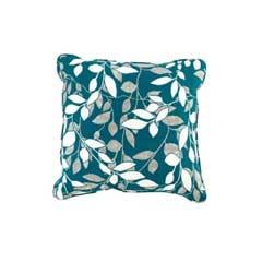 Glendale Scatter Cushion Piped - Tahiti Leaf Design