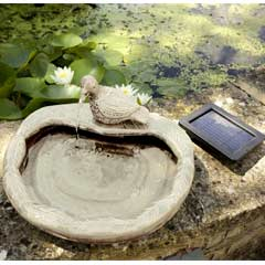 Smart Garden Dove Solar Water Fountain Feature