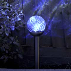Smart Garden Orion Glass Solar Stake Lights - Set of 4