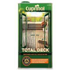 Cuprinol Total Deck Oil 2.5 Litre - Clear