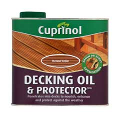 Cuprinol UV Guard Decking Oil - Natural Cedar 2.5 Litre