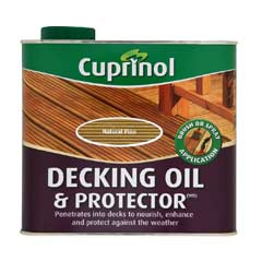 Cuprinol UV Guard Decking Oil - Natural Pine 2.5 Litre