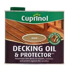 Cuprinol UV Guard Decking Oil - Natural 2.5 Litre