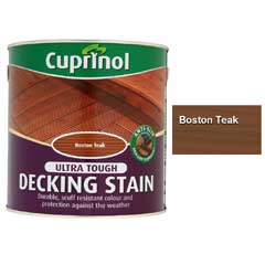 Cuprinol Ultra Tough Decking Stain 2.5 Litre - Boston Teak