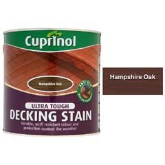Cuprinol Ultra Tough Decking Stain 2.5 Litre - Hampshire Oak