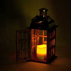 Cole and Bright The Longstone Lantern - 23cm Height