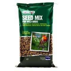 Gardman Wild Bird Seed Mix 20kg - Zero rated VAT