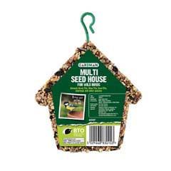 Gardman Wild Bird Multi Seed House 200g