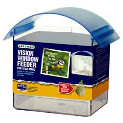 Gardman Wild Bird Vision Window Feeder