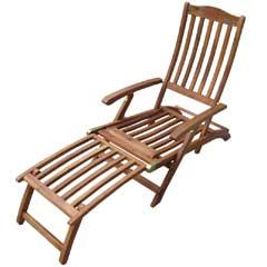 Greenfingers Eldorado FSC Acacia Steamer Chair