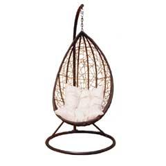 Greenfingers Rattan Egg Swing Chair