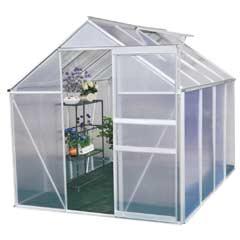 Terra Aluminium Greenhouse - 6 x 8ft